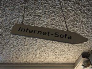Unperfekthaus InternetSofa