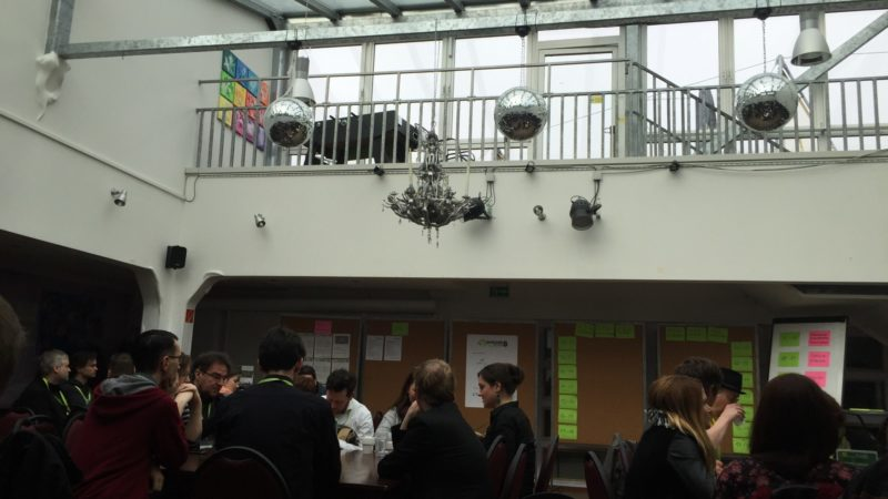 BarCamp Ruhr Sessionplanung