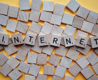 Buchstaben Internet